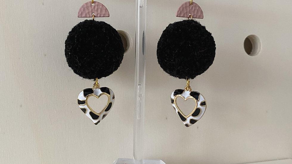 Cow Print Earrings