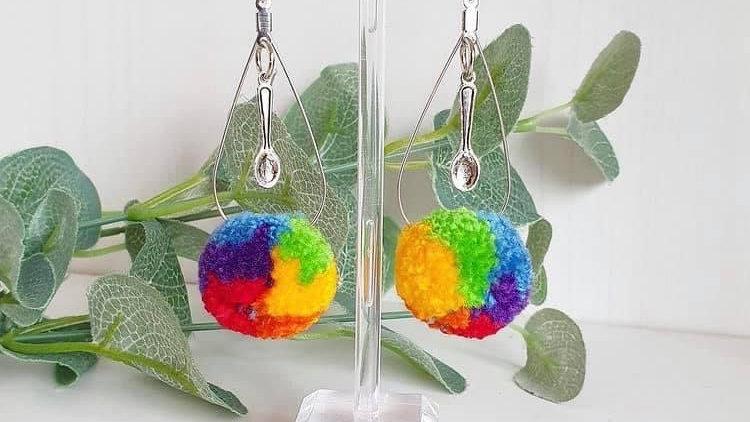 Spoonie earrings
