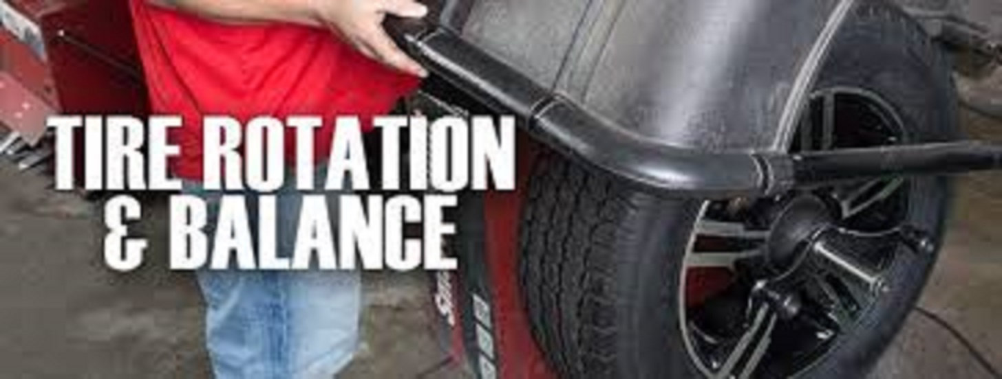 Rotate and Balance 4 tires