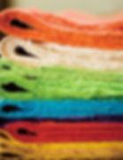 Корейская бумага Ханди после окраски.