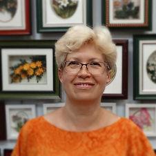 Преподаватель Центра Корейского Бумажного Искусства Татьяна Грибачёва.
