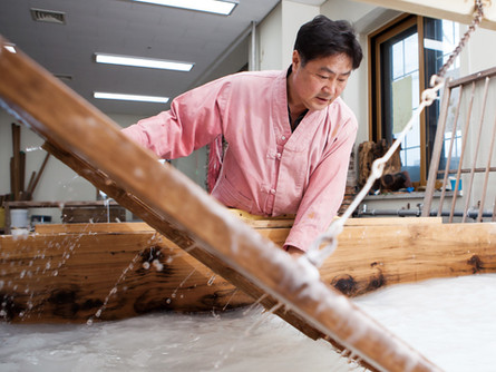 О корейской бумаге Ханди, корейском бумажном искусстве и нашем Центре.