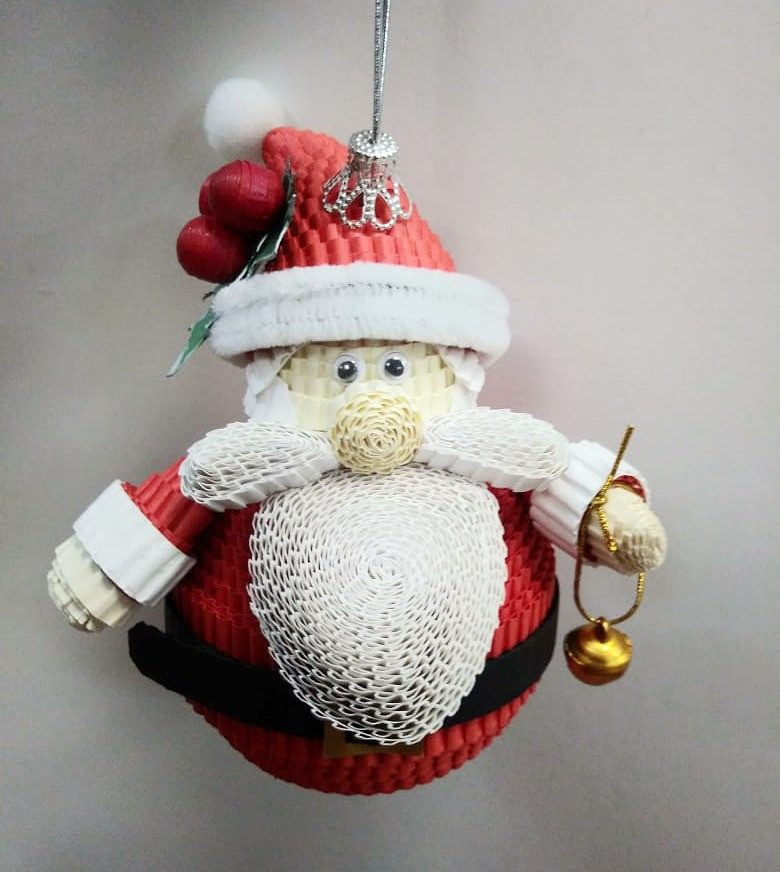 Дед мороз на ёлку. Ёлочная игрушка.