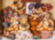 """Картина в технике Объёмного декупажа (Papertole) """"Шляпный салон"""". Автор работы Татьяна Грибачёва."""
