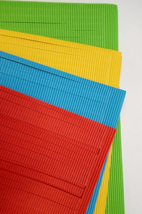 Листы цветного гофрокартона для творчества