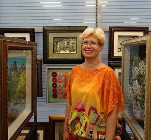 Директор Центра Корейского Бумажного Искусства Татьяна Грибачёва.