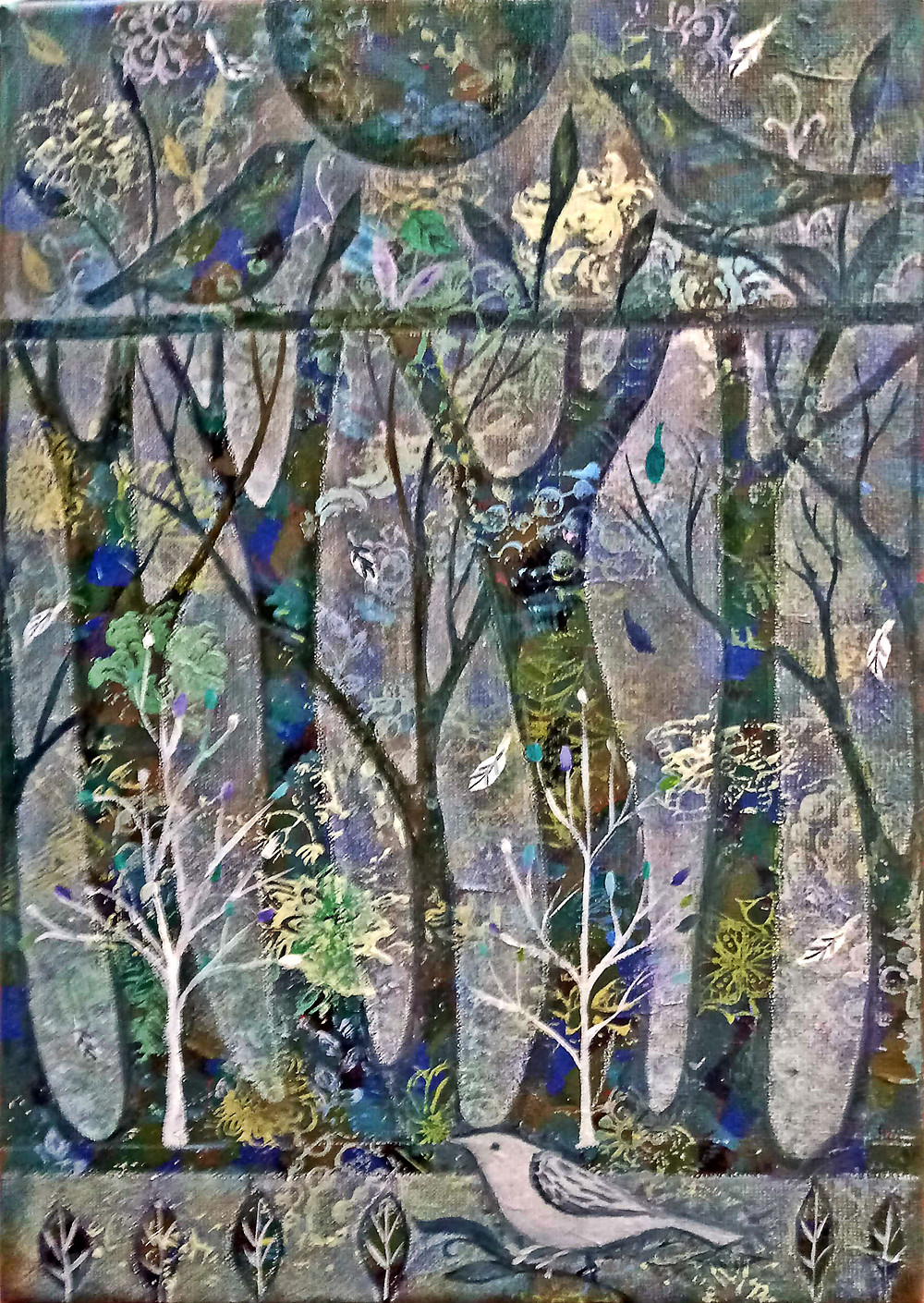 Зачарованный лес.