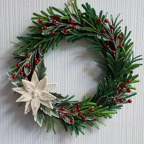 Набор Рождественский, Новогодний венок