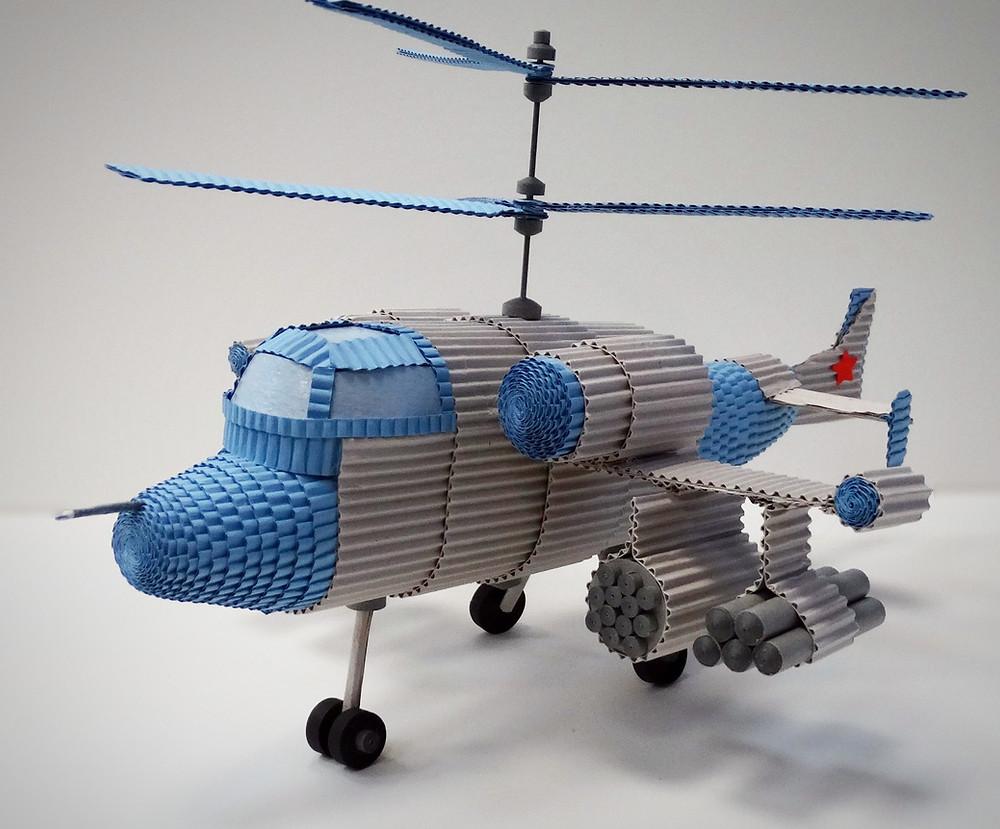 Вертолёт КА-50 Черная Акула