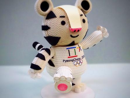 Талисманы зимних олимпийских игр в Республике Корея.