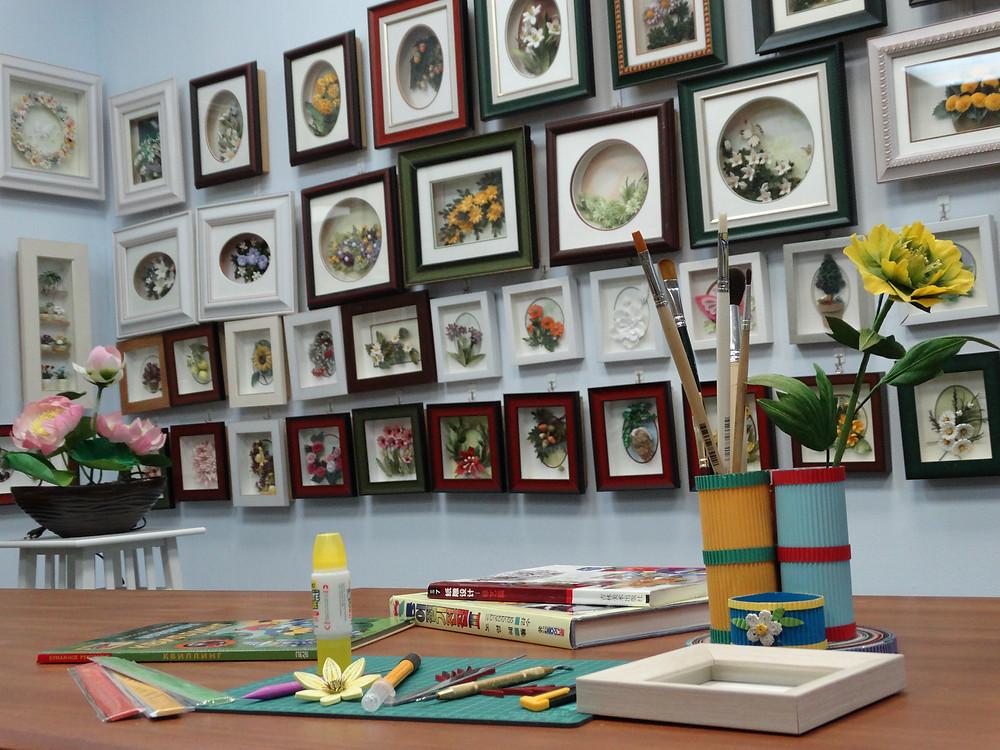 Учебный класс Ценра Корейского Бумажного Искусства