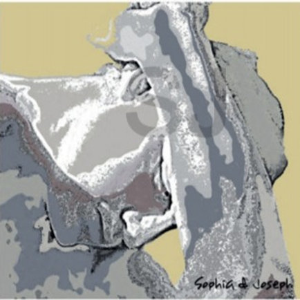 Caine - Canvas 102 x92cm