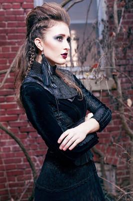 Photography by Ryan Swartzlander Designs by Rachel Gottlieb and Nataliya Meyer Hair by Sophia Binder Makeup by Courtnie Ross