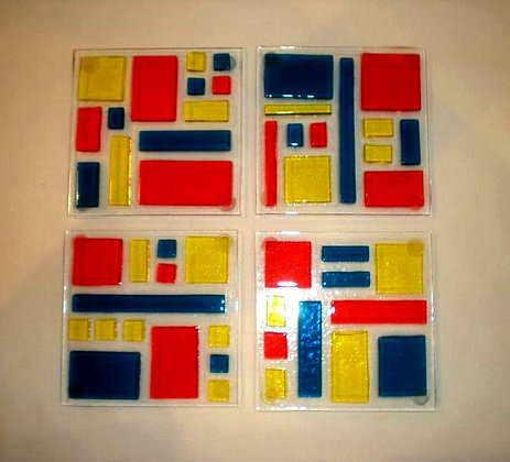 Transparent Tac Coasters