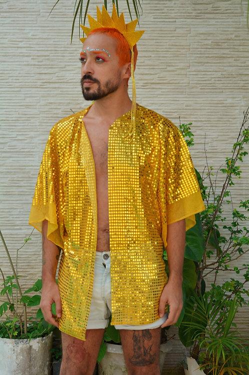 Kimono Dourado