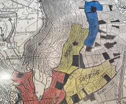 Carte du Vignoble et des grands crus DIRLÉ-CADER