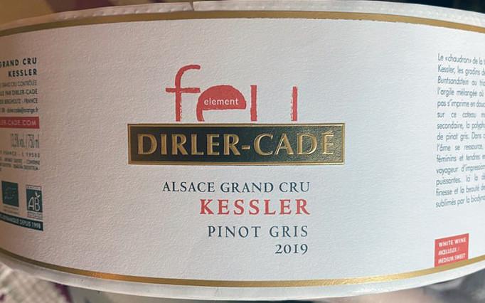 Les nouvelles étiquettes des bouteilles DIRLÉ-CADER