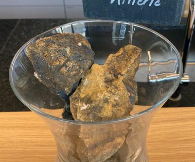 Echantillons de grès et pierre volcanique du Grand Cru KITTERLÉ