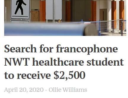 Franco-Doc - bourse de 2500$ cherche toujours preneur!