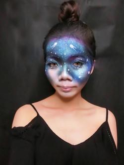 Galaxy Airbrush Makeup