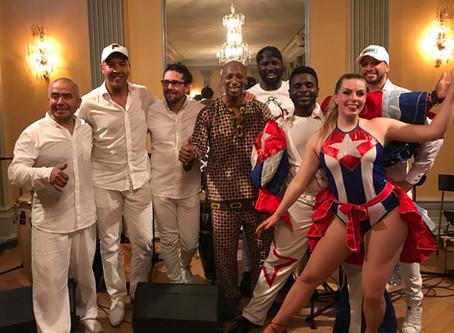 Kuba-afton på Stora Teatern
