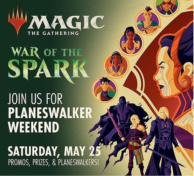 MTG Planeswalker Weekend: War of the Spark