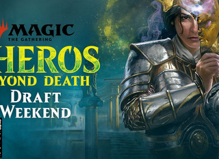 MTG Theros Beyond Death Draft Weekend