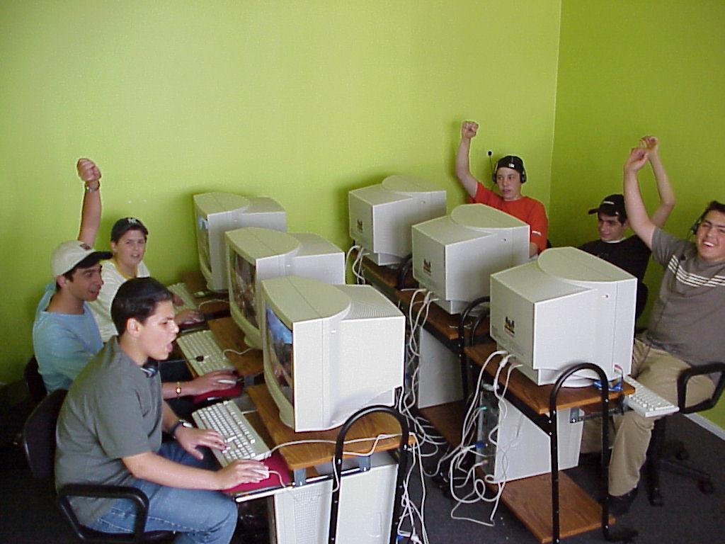 Computer Room: 2002
