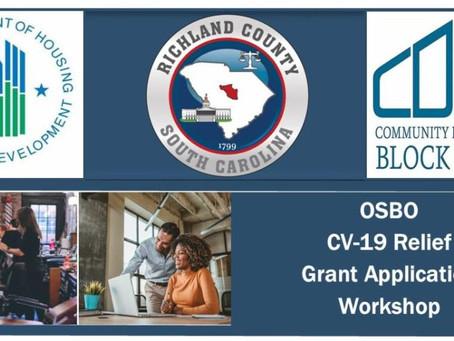 CV-19 Small Business Relief Loan Program