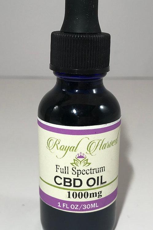 1000 mg Full Spectrum CBD Oil