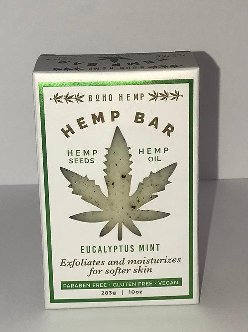 Hemp Soap Bar - Eucalyptus Mint