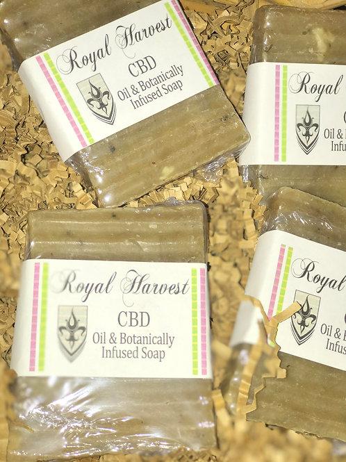 CBD Oil & Botanically Infused Soap