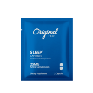 ORIGINAL HEMP CAPSULES | SLEEP | DAILY DOSE | 25MG