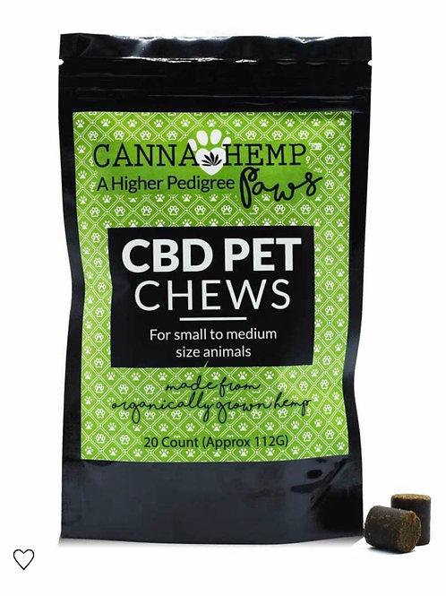 Canna Hemp Pet Chews-20pcs