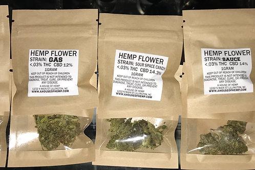 Hemp Flower 1 gram