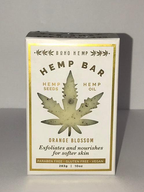 Hemp Soap Bar - Orange Blossom