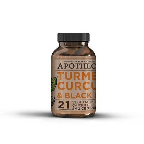 APOTHECARY BROTHERS CAPSULES | TURMERIC | IMMUNITY