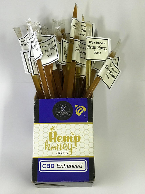 CBD Enhanced Hemp Honey Sticks 10mg