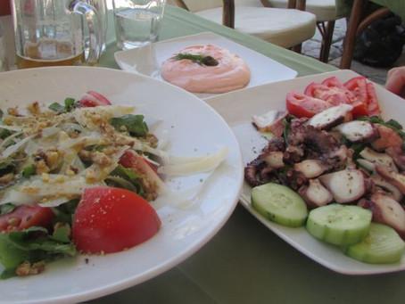 Great Food!  Hydra Greece
