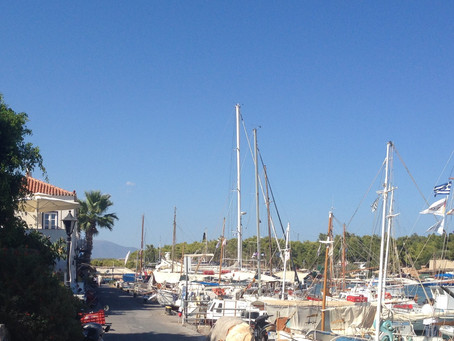 Baltiza Creek, Spetes Greece - the old harbour area