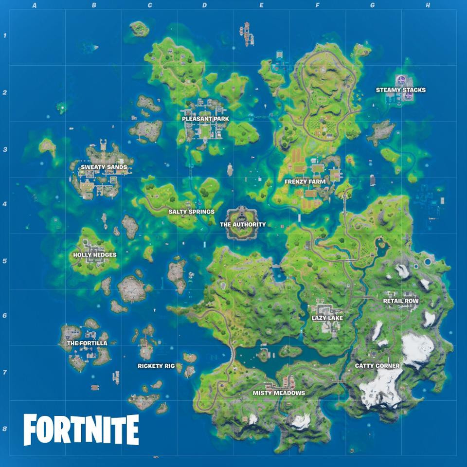 fortnite map socially gaming