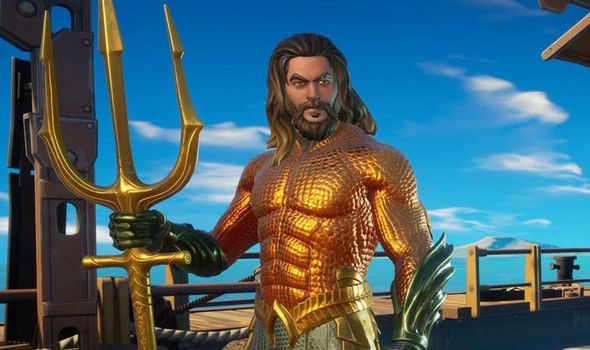 fortnite aquaman d.c. socially gaming