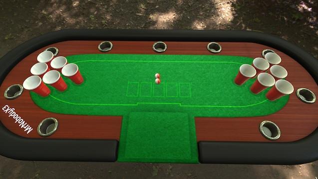 Socially Gaming Tabletop Simulator Drinking Games Beer Pong