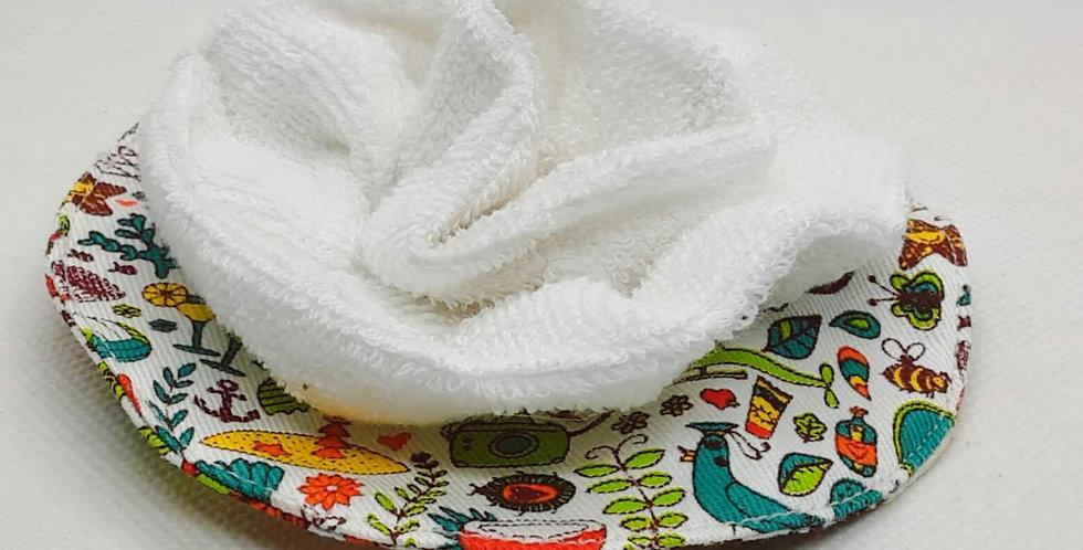 fleur de douche lavable 100% coton bio