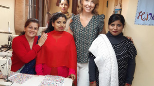 Susie, Economie Durable et Solidaire, avec les femmes de BLF