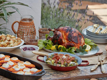 Make Thanksgiving Dinner, On The Grill!