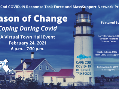 Season of Change – Coping During Covid – A Virtual Town Hall Event