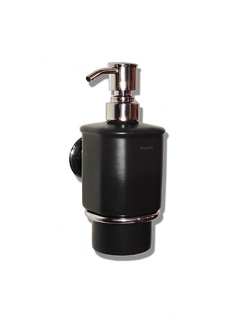 Дозатор жидкого мыла (черный матовый)