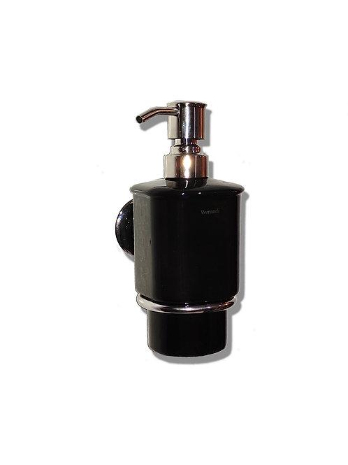 Дозатор жидкого мыла (черный глянец)