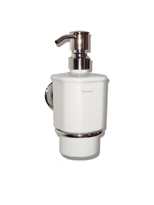 Дозатор жидкого мыла(белый матовый)